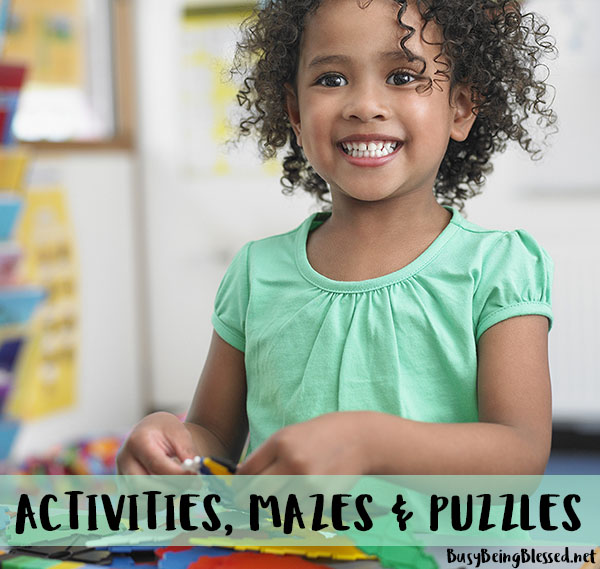 Activities, Mazes & Puzzles