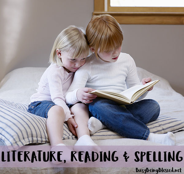 Literature, Reading & Spelling