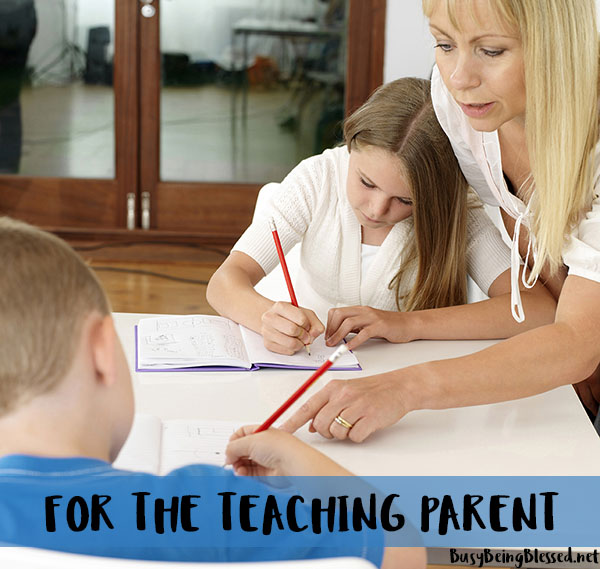 For the Teaching Parent